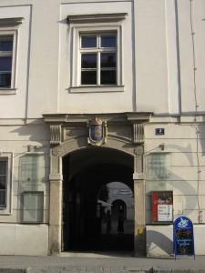 Old grammar school 2007, entrance