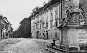 Old grammar school c1920, front