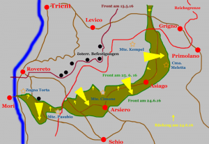 Battle of Asiago,May to June 1916