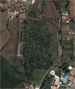 Aerial view of camp, 2008 Google Maps