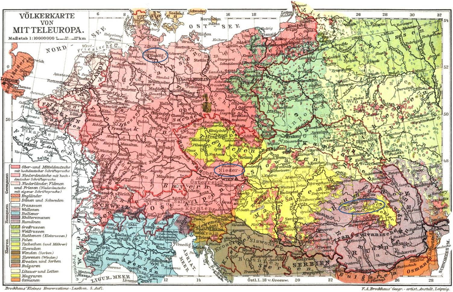 Central Europe, 1901