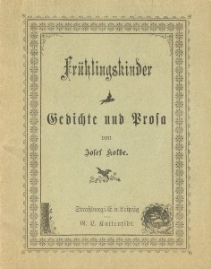 Frühlingskinder, poetry and prose