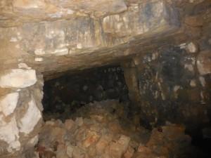 Artillery cavern, interior