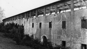 Soldiers' accommodation in the granary, storerooms and stables ArTeSalVa Project