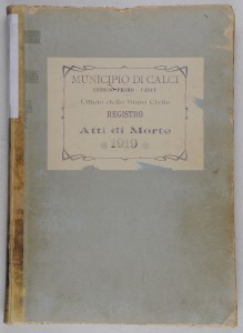 Death register 1919